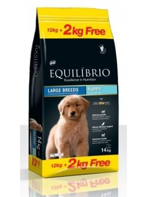 EQUILIBRIO PUPPY LARGE BREED 12KG + 2KG ΔΩΡΟ!!!