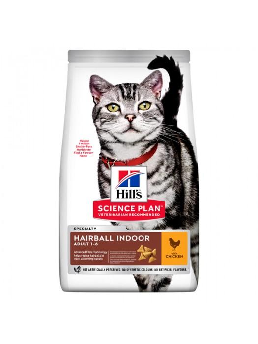 HILL'S CAT HAIRBALL INDOOR ΚΟΤΟΠΟΥΛΟ 1,5KG