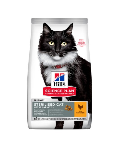 HILL'S CAT STERILISED MATURE ADULT 7+ ΚΟΤΟΠΟΥΛΟ 1,5kg