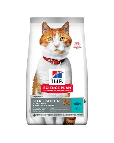 HILL'S CAT STERILISED YOUNG ADULT ΤΟΝΟ 1,5kg