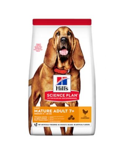 HILL'S MATURE ADULT 7+ LIGHT CHICKEN 14kg