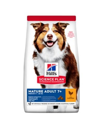 HILL'S MATURE ADULT 7+ MEDIUM CHICKEN 2,5kg