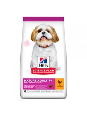 HILL'S MATURE ADULT 7+ SMALL & MINI CHICKEN 1,5kg