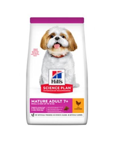HILL'S MATURE ADULT 7+ SMALL & MINI CHICKEN 3KG