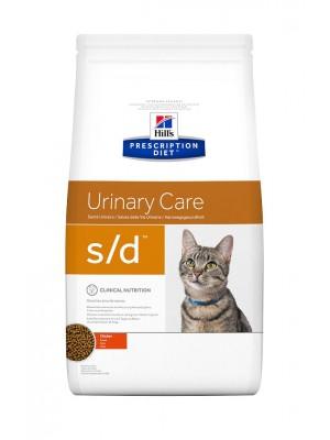 S/D FELINE URINARY CARE 1,5kg