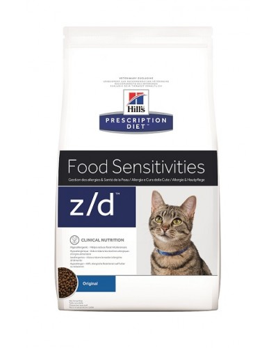 Z/D FELINE FOOD SENSITIVITIES 2kg