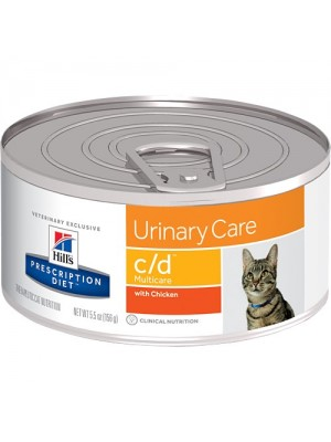 C/D FELINE MULTICARE URINARY CARE 156 GR