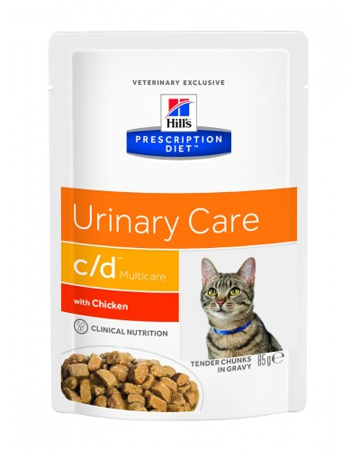 C/D FELINE MULTICARE URINARY CARE 85gr (ΦΑΚΕΛΑΚΙ)