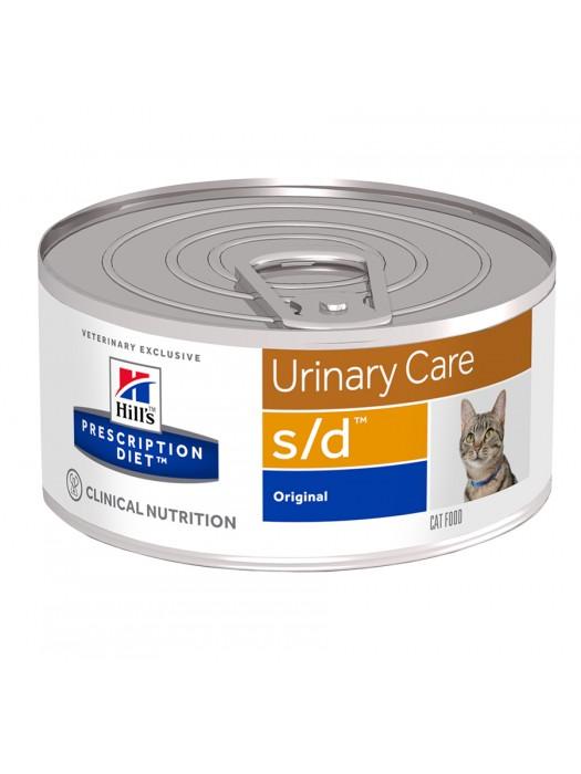 S/D FELINE URINARY CARE 156gr/24 τμχ