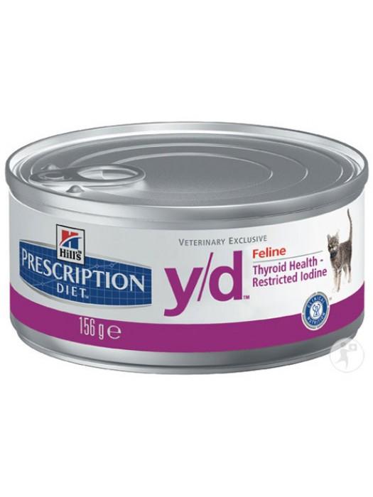 Y/D FELINE THYROID CARE 156gr/24τμχ