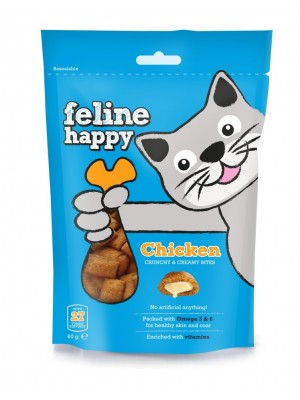 FELINE HAPPY CHICKEN 60GR