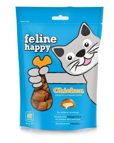FELINE HAPPY CHICKEN 60GR