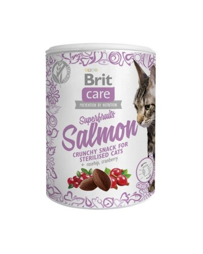 Brit Care Superfruits SALMON STERILISED CATS 100gr