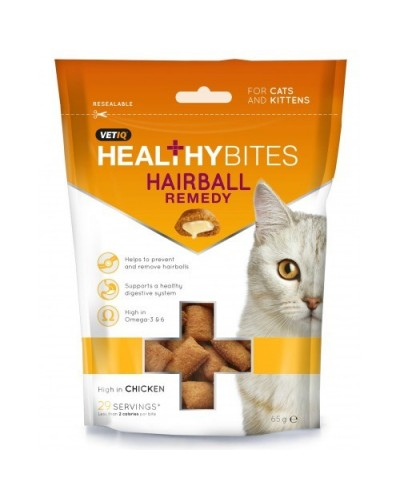 HEALTHY BITES HAIRBALL REMEDY CHICKEN 65gr