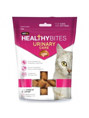 HEALTHY BITES URINARY CARE CHEESE & CATNIP 65gr