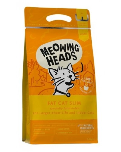 MEOWING HEADS FAT CAT SLIM 1,5kg (LIGHT)