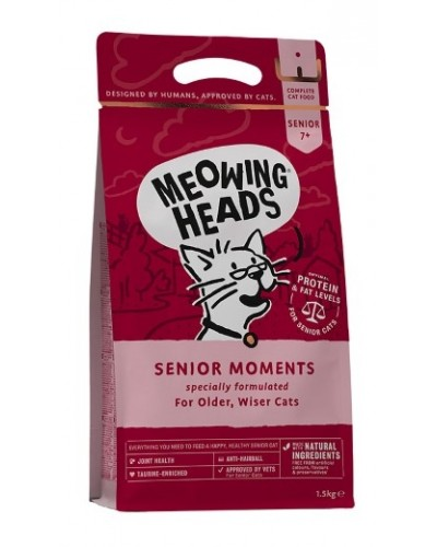 Meowing Heads SENIOR MOMENTS FISH 1,5kg