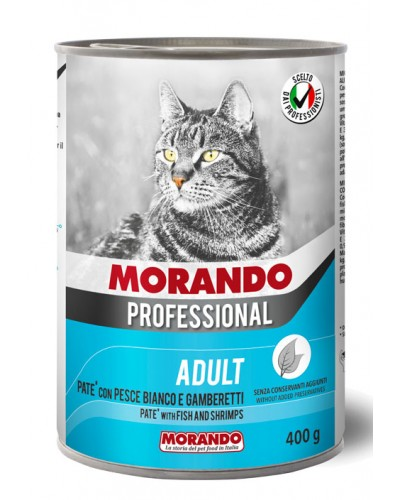 MORANDO PROFESSIONAL CAT ΠΑΤΕ ΨΑΡΙ & ΓΑΡΙΔΕΣ 400GR