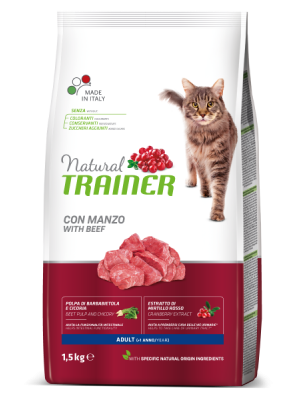 NATURAL TRAINER ADULT BEEF (ΜΟΣΧΑΡΙ) 3KG