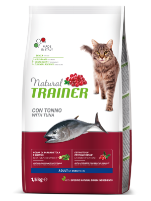 NATURAL TRAINER ADULT TUNA (ΤΟΝΟΣ) 1,5KG