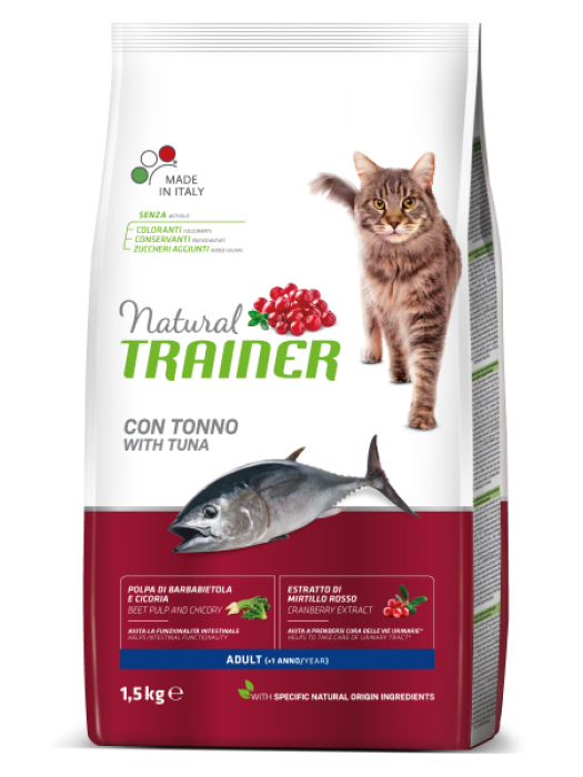 NATURAL TRAINER ADULT TUNA (ΤΟΝΟΣ) 300GR