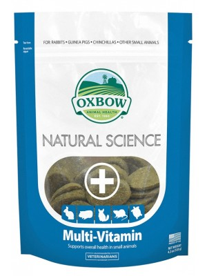 OXBOW MULTIVITAMIN 120GR / 60 ΤΑΜΠΛΕΤΕΣ