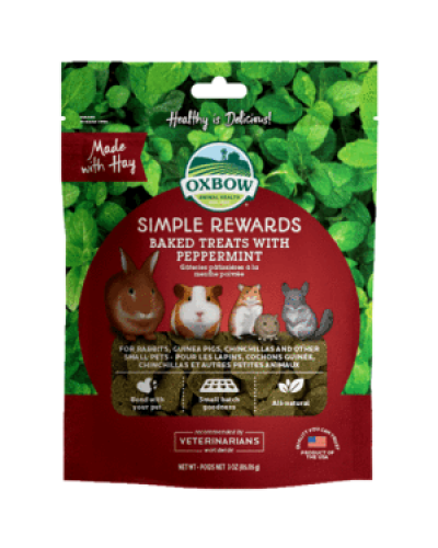 OXBOW SIMPLE REWARDS BAKED ΜΕ ΜΕΝΤΑ 56GR