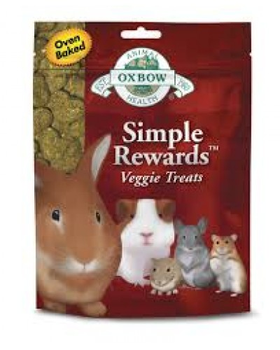 OXBOW SIMPLE REWARDS VEGGIE TREATS 60gr