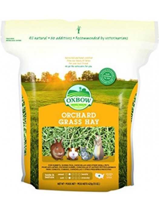 OXBOW ΧΟΡΤΟ ORCHARD GRASS HAY 425gr