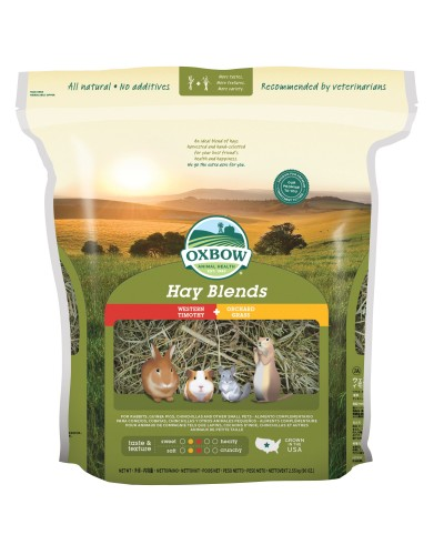 OXBOW ΧΟΡΤΟ HAY BLENDS 2,55KG (ΜΕΙΓΜΑ TIMOTHY & ORCHARD)