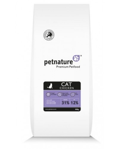 PET NATURE CAT ADULT ΚΟΤΟΠΟΥΛΟ 10KG