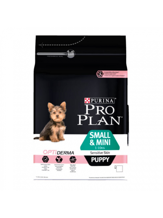 PROPLAN PUPPY SMALL&MINI SENSITIVE SKIN ΣΟΛΟΜΟΣ 700GR