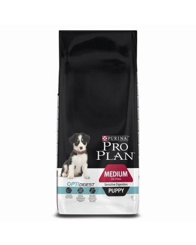 PROPLAN PUPPY MEDIUM SENSITIVE DIGESTION ΑΡΝΙ 12KG