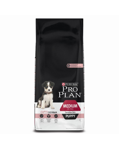ProPlan PUPPY Medium Sensitive Skin Σολομος 3kg