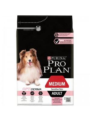PROPLAN MEDIUM ADULT SENSITIVE SKIN ΣΟΛΟΜΟΣ 3kg
