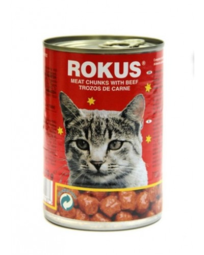 ROKUS CAT ΒΟΔΙΝΟ 410gr/