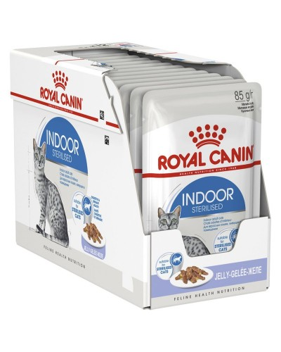 ROYAL CANIN INDOOR STERILISED IN JELLY 85GR/12ΤΜΧ