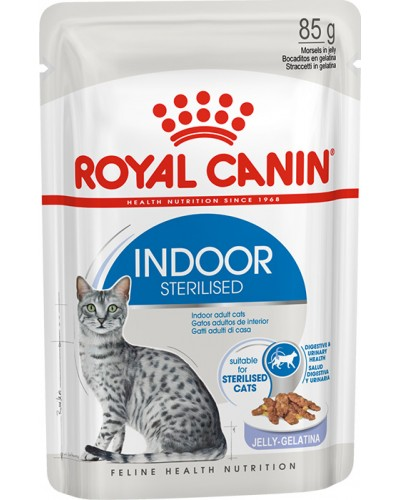 ROYAL CANIN INDOOR STERILISED IN JELLY 85GR