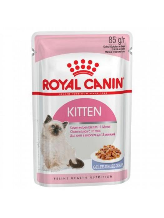 ROYAL CANIN KITTEN INSTICTIVE IN JELLY 85gr