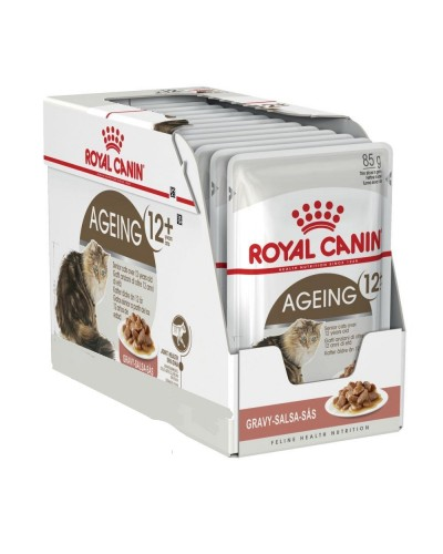 ROYAL CANIN AGEING +12 IN GRAVY 85gr/12ΤΜΧ