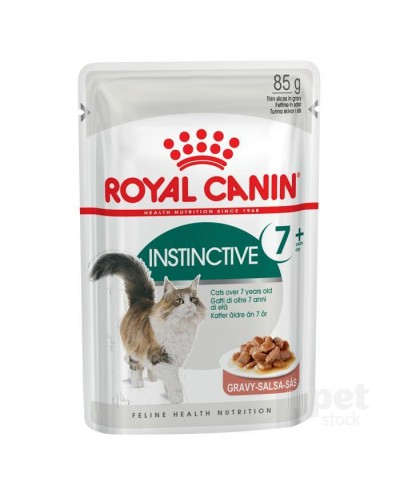 ROYAL CANIN INSTICTIVE +7 IN GRAVY 85gr