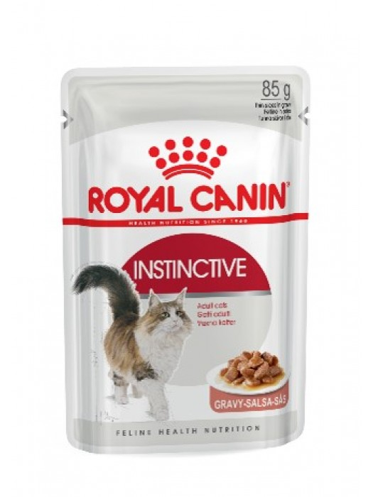 ROYAL CANIN ADULT INSTICTIVE IN GRAVY 85gr