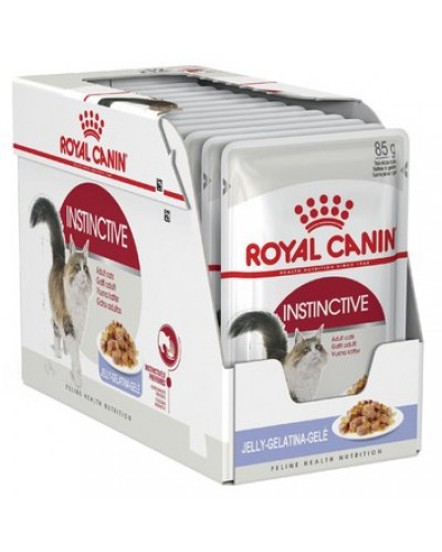 ROYAL CANIN ADULT INSTICTIVE IN JELLY 85gr/12ΤΜΧ