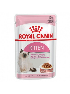 ROYAL CANIN KITTEN INSTICTIVE IN GRAVY 85gr