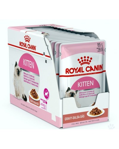 ROYAL CANIN KITTEN INSTICTIVE IN GRAVY 85gr/12τμχ