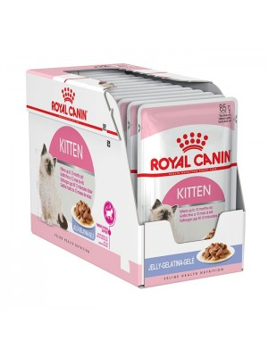 ROYAL CANIN KITTEN INSTICTIVE IN JELLY 85gr/12τμχ