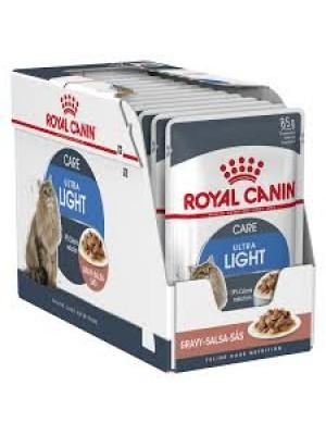 ROYAL CANIN ULTRA LIGHT IN GRAVY 85gr/12ΤΜΧ