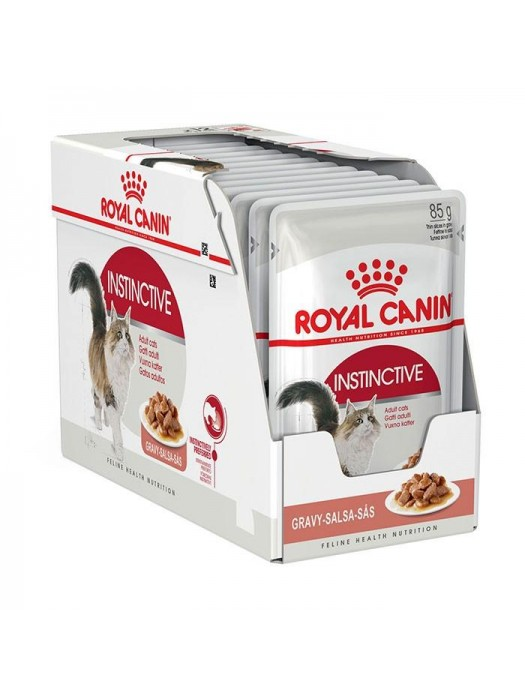 ROYAL CANIN ADULT INSTICTIVE IN GRAVY 85gr/12TMX