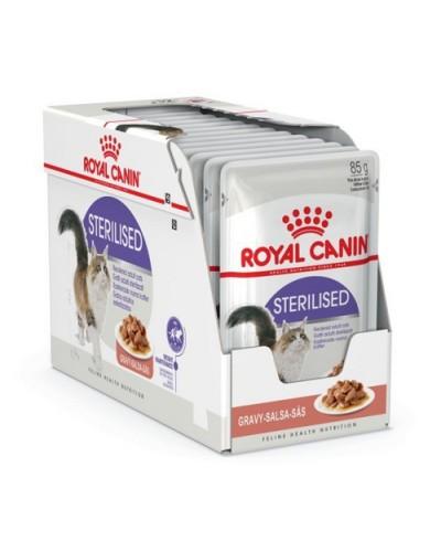 ROYAL CANIN STERILISED IN GRAVY 85gr/12τμχ