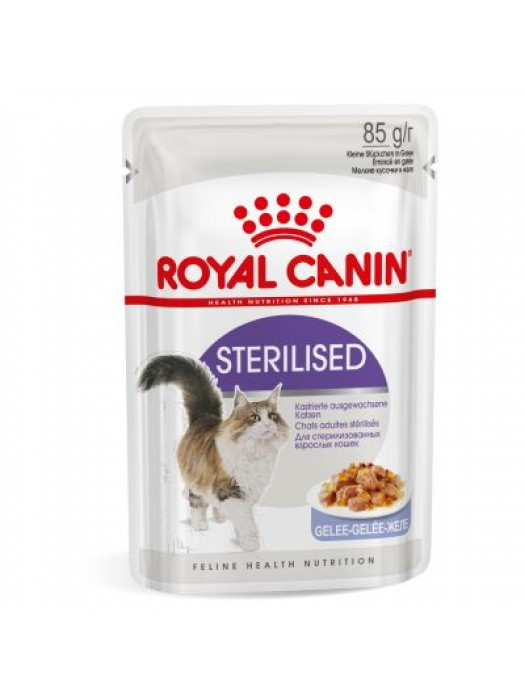 ROYAL CANIN STERILISED IN JELLY 85GR